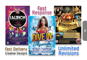 I Will Design Eye Catching Bespoke Flyer,Brochure Poster