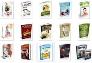 I will send you 100 fitness and weight loss PDF eBook with master resell rights