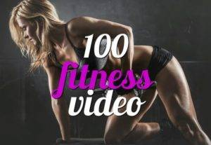 I will give you 500 fitness videos with your brand logo