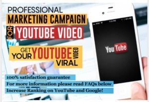 Get #1 Ranking Professional YouTube Video Marketing