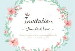 I Will Design Print And Digital Invitation Design For You