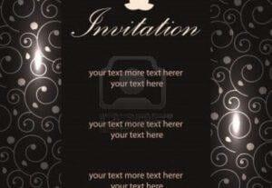 I Will Do A Standard Invitation Design For You