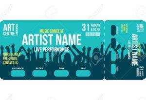 I Will Design Great Tickets And Entry Pass For Any Event