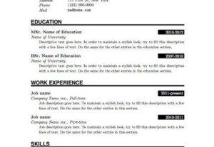 I Will Create A Well Designed CV Service By Best Graphic Designer