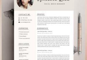 I Will Design Well Design CV Services By Best Graphic Designer