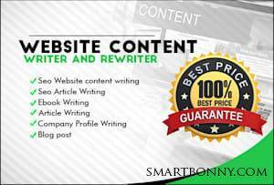 Copywriting and content writing Jobs With Best Article Writing Service